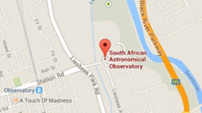 Gooogle map - South African Astronomical Observatory